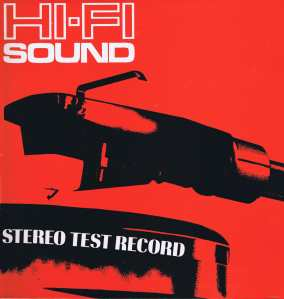 HiFi sound test record